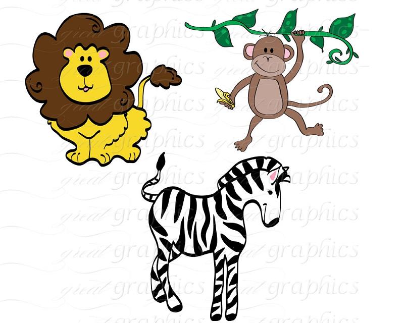 Animal clipart safari animal Cute Clip Clipart Panda Clipart