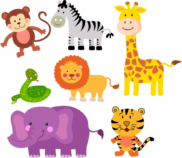 Wildlife clipart cartoon Of free Free download Free