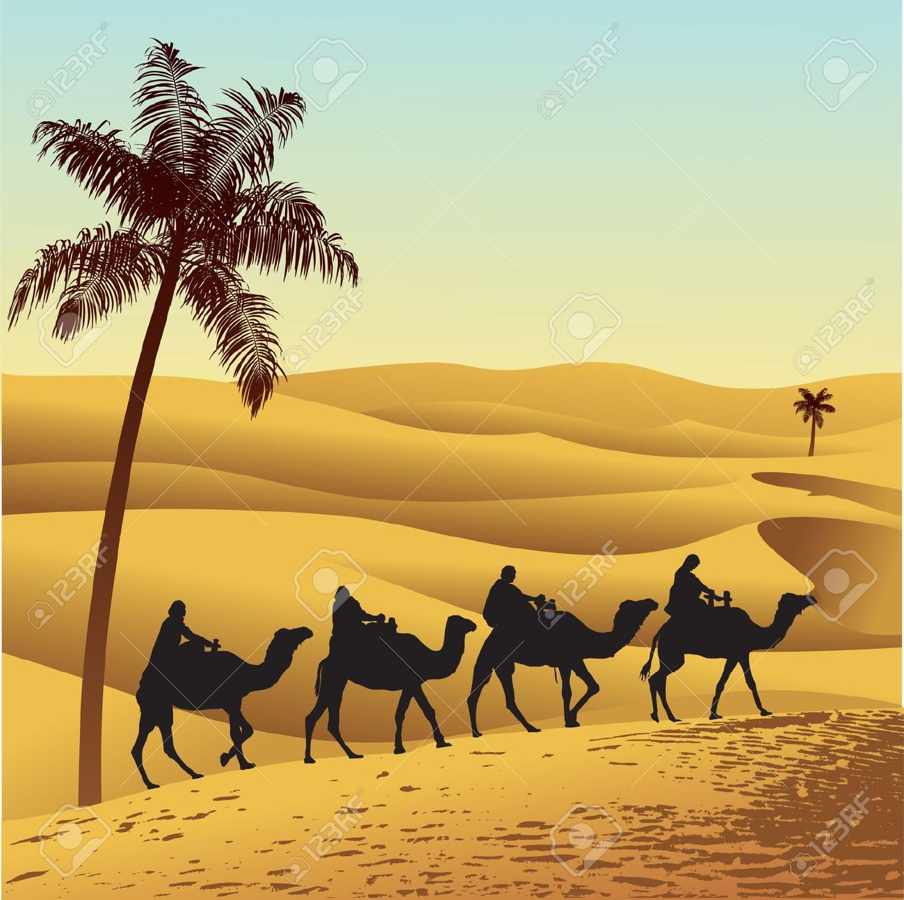 Arab clipart desert camel Sahara collection Animated Clipart Clipart