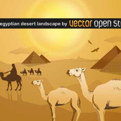 Sahara clipart desert landscape #4