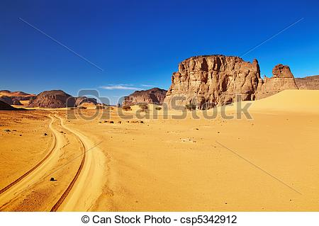 Sahara clipart desert landscape #5