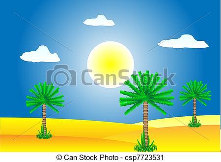 Sahara clipart desert landscape #3