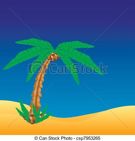 Sahara clipart oasis #11