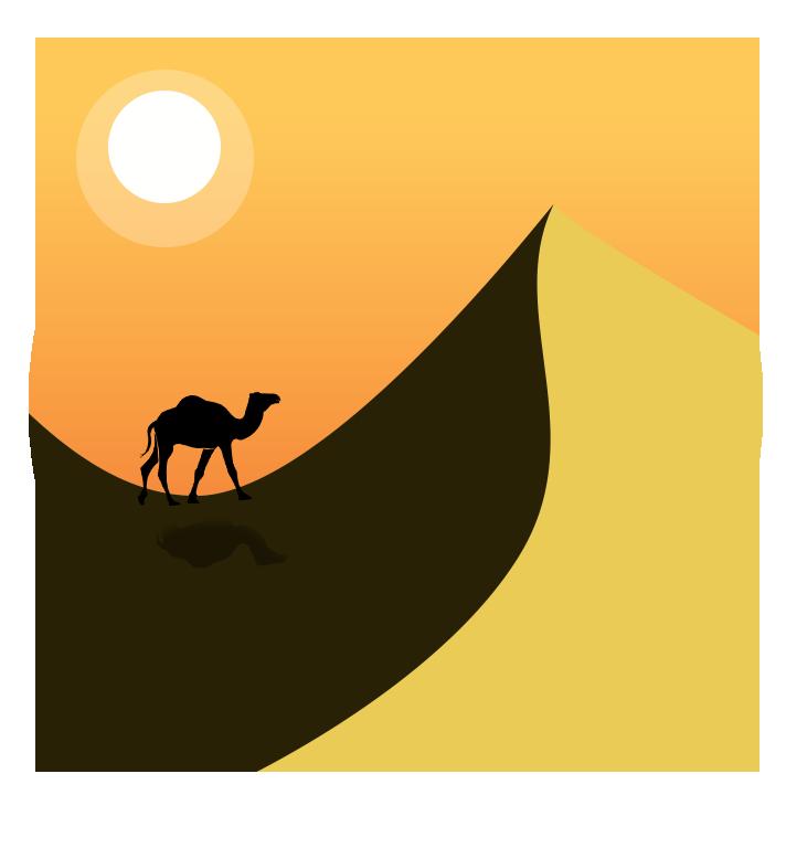 Sahara clipart transparent #11