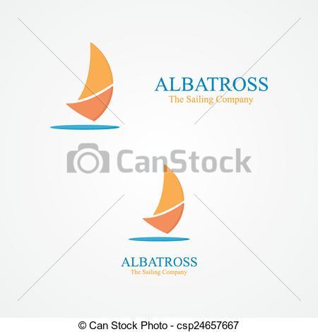 Sailboat clipart abstract #5