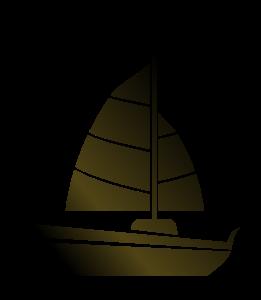 Sailboat clipart abstract #1