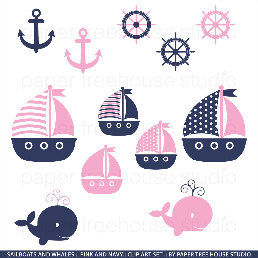 Pink clipart nautical PNG 179 JPG Ready and