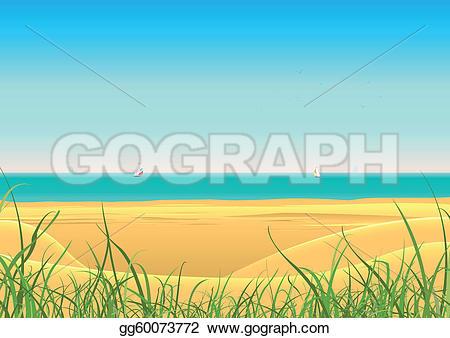Sailboat clipart beach #11