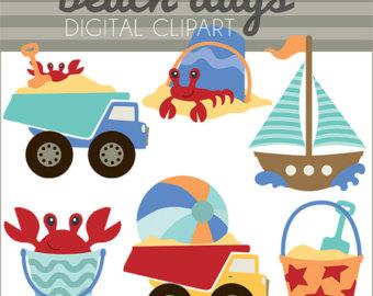 Sailboat clipart beach Etsy and Limited sailboat Use