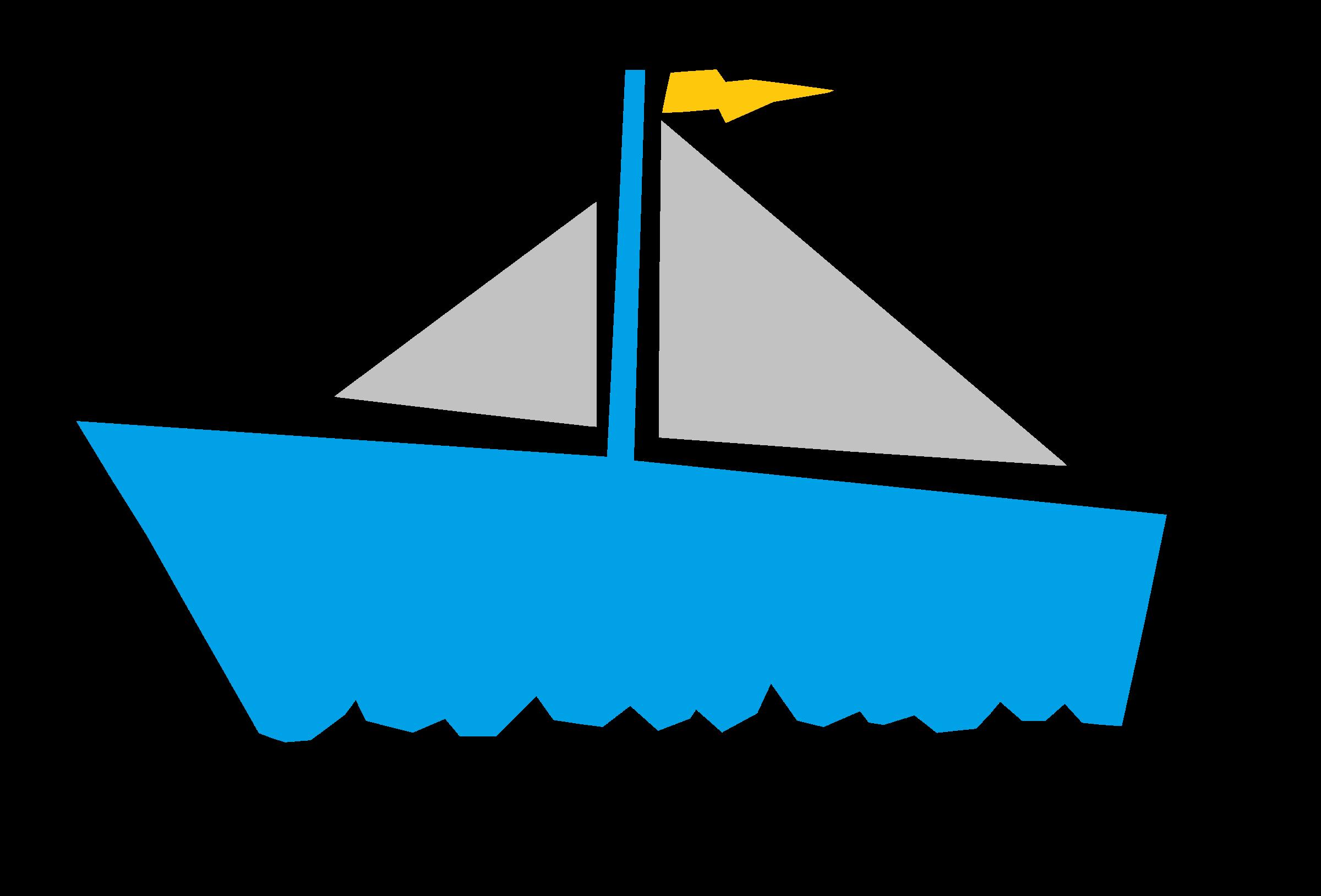 Sailboat clipart big boat #8