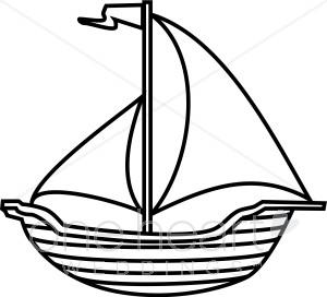 Sailing Boat clipart boating #8