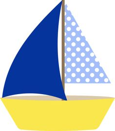 Sailing clipart blue sailboat Product  Beach/Ocean Cuttables Kate