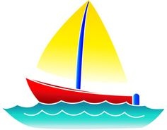 Sailboat clipart boating #3