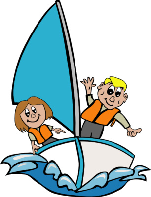 Sailboat clipart boating #11