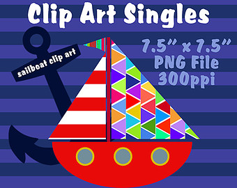 Sailboat clipart boating #14