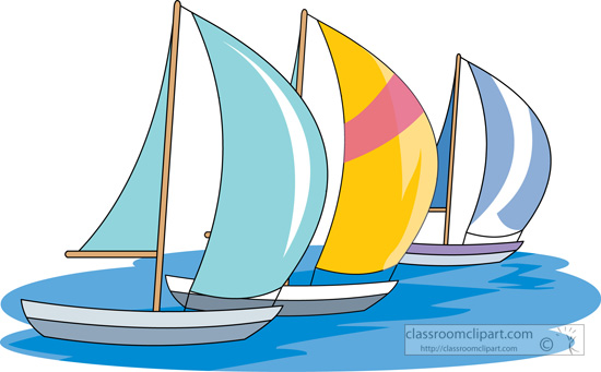 Sailboat clipart boating #2