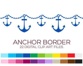 Sailboat clipart border Art Sailor Art Clipart Nautical