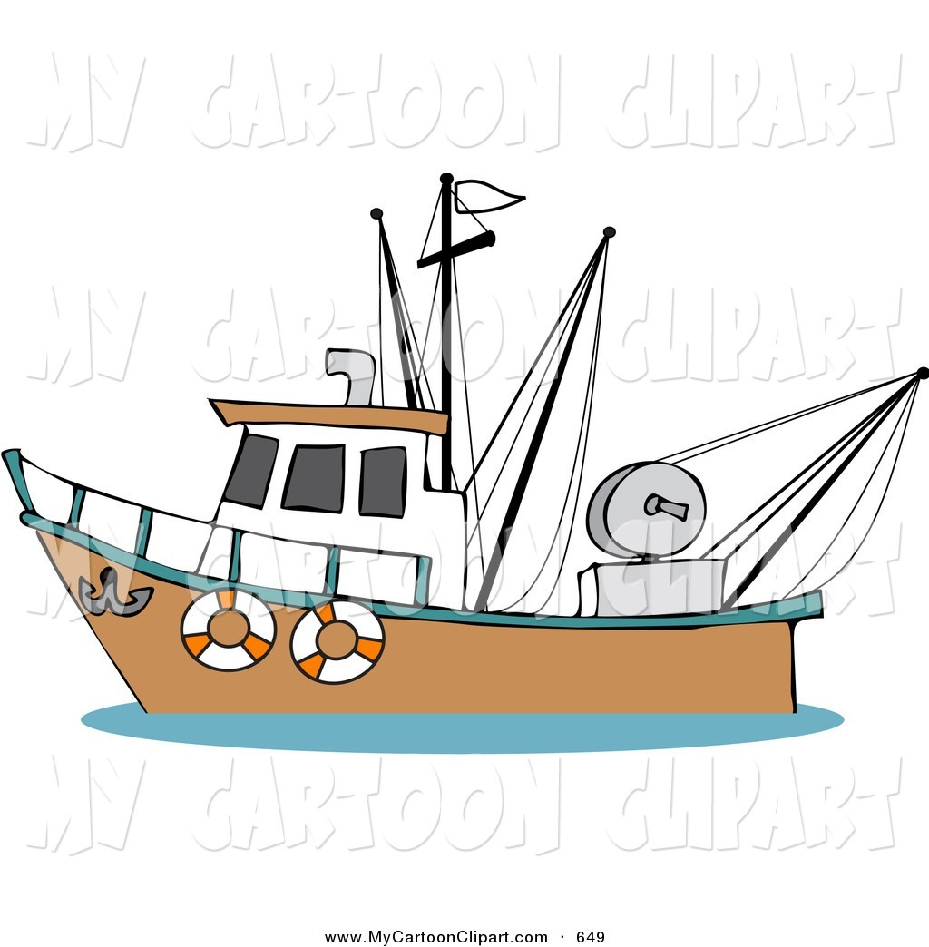Fisherman clipart animated Clipart — Boat Clipartwork Boat
