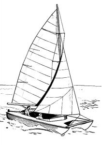 Sailboat clipart catamaran Download Catamaran Clipart Clip Catamaran