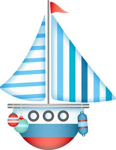 Sailing clipart little boat #9