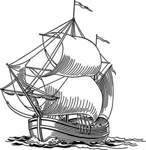 Old Sailing Ships clipart coloring page Ship Clip Download Ships Dogger