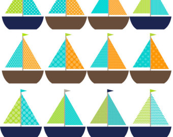 Weaves clipart blue boat #10