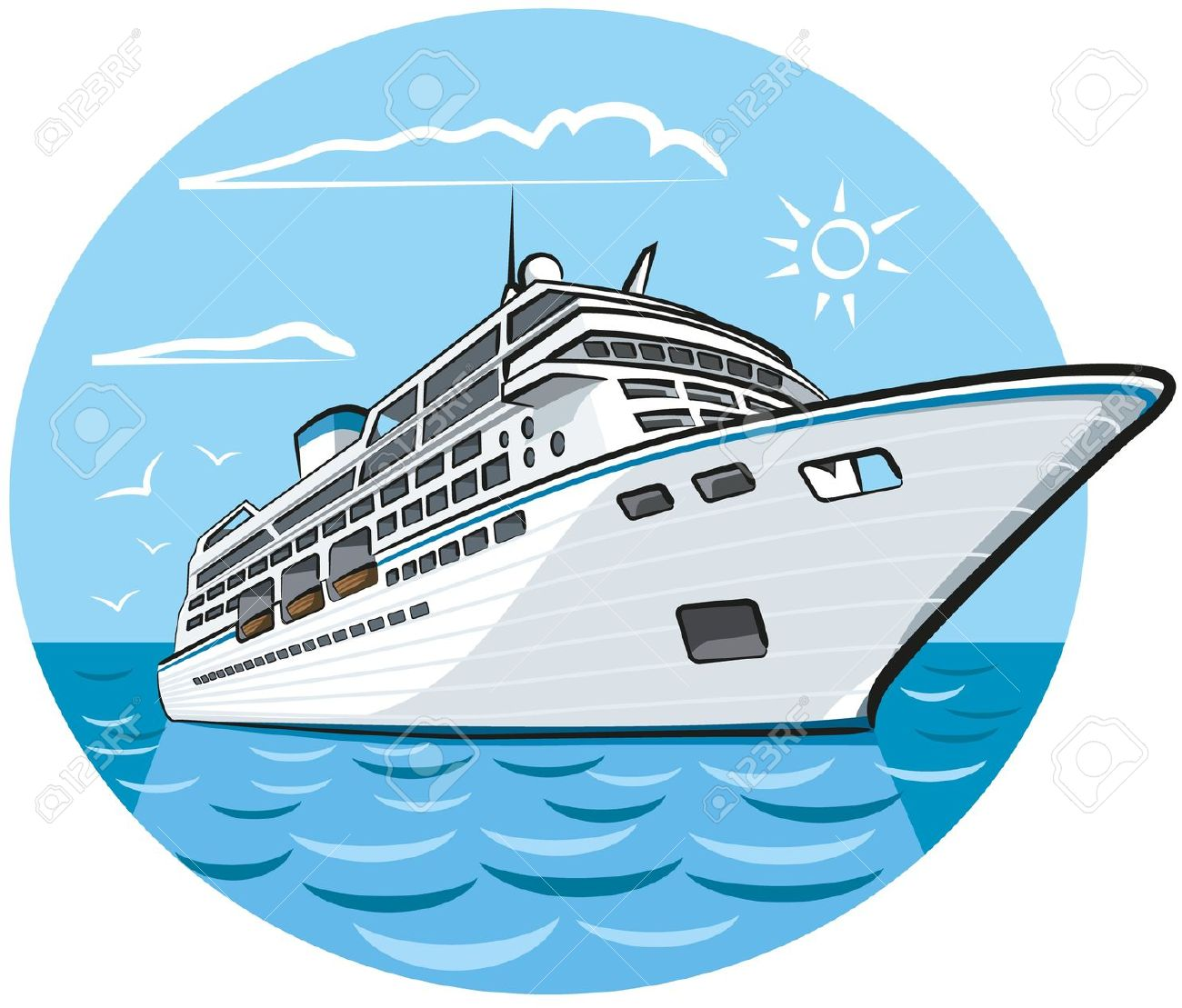 Boat clipart yacht – Cruise Clipart Ship Cruise