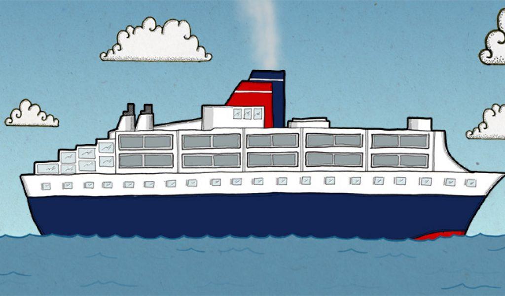 Transition school cruise art clip