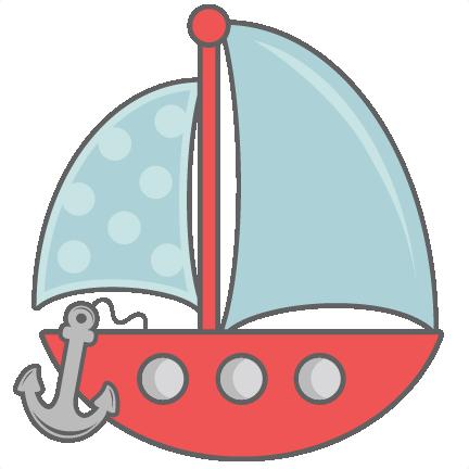 Sailing Boat clipart cute #5