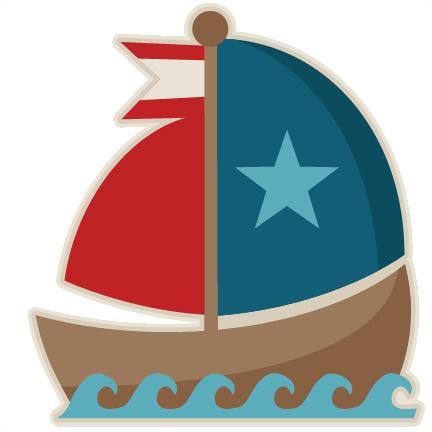 Sailing Boat clipart cute #12