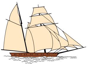 Sailboat clipart dhow Boats Clip Jib Art Sail