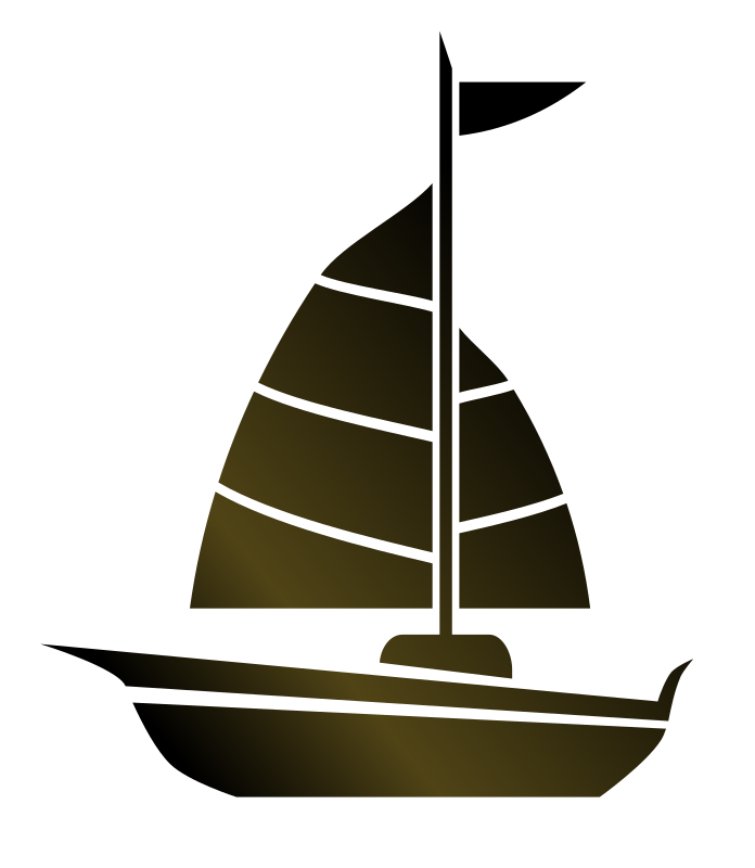 Sailboat clipart dinghy #9