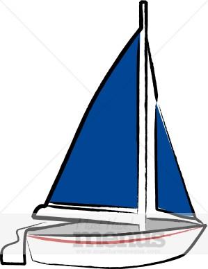 Sailboat clipart dinghy #8
