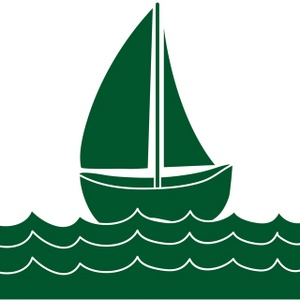 Simple clipart boat #7