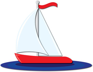 Sailing Boat clipart water clipart #5