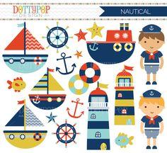 Sailor clipart sailing Digital Clip Clip Sailboats Clipart