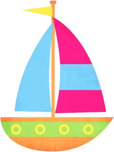 Sailing clipart little boat #8