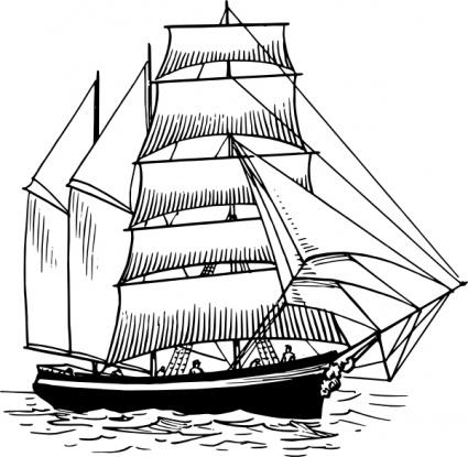 Sailboat clipart maritime Clip arts com Download 1)