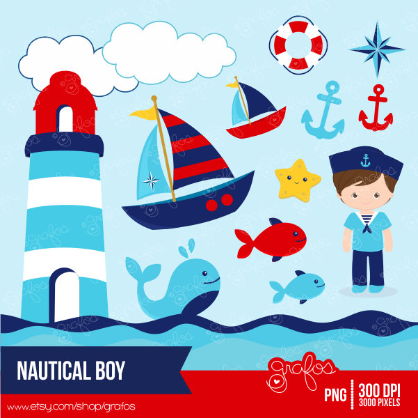 Sailboat clipart nautical baby shower Baby Buscar Buscar imagenes Google