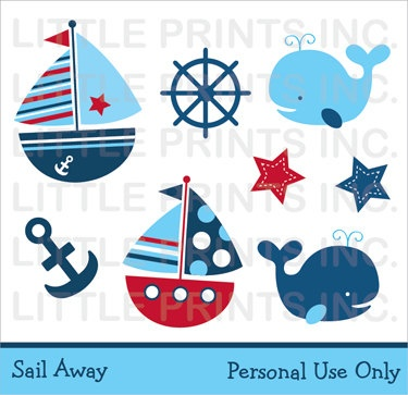 Sailboat clipart nautical baby shower Download Downloads Sailboat Free Downloads