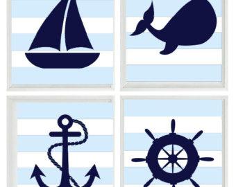 Sailboat clipart navy blue #7