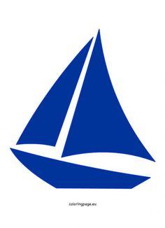 Sailboat clipart navy blue #11
