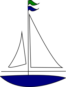 Sailing clipart blue sailboat Free Images Sailboat Panda Clipart