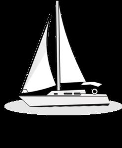 Boat clipart yacht Vector Clip Yacht com Clip