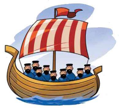 Sailboat clipart passenger ship #12