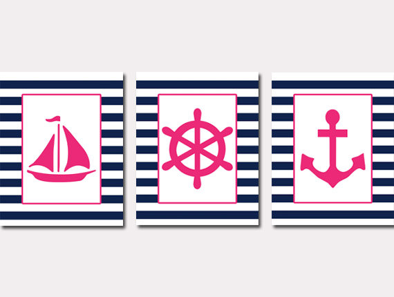 Pink clipart nautical Baby Free Clipart Images Nautical