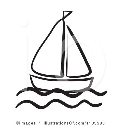 Sailboat clipart purple #8