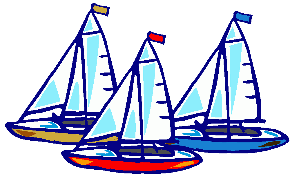 Sailboat clipart purple #10