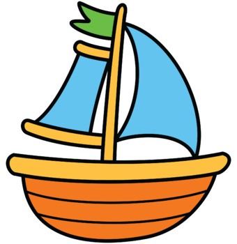 Sailboat clipart purple #11