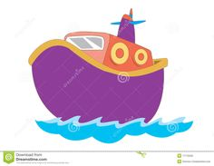 Sailboat clipart purple #6